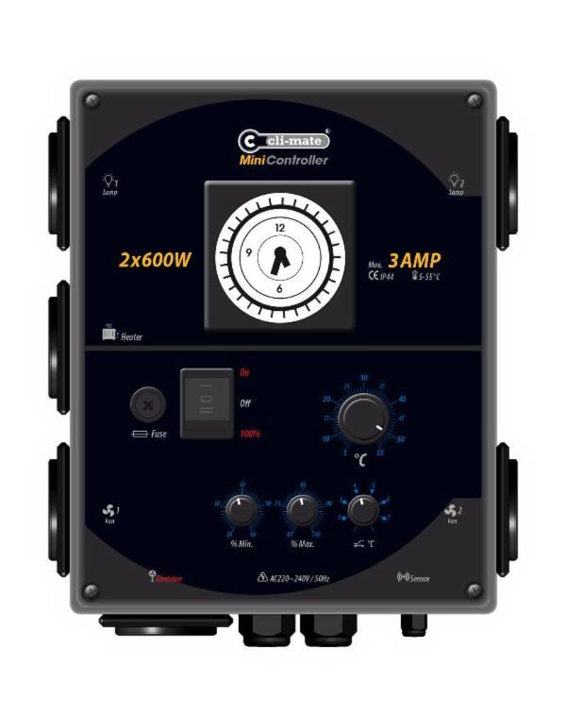 Cli-Mate Cli-Mate Mini-Controller 3A 2x600W