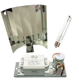 600 W - Mari - Platinum - Spiegelkap - Kweeklamp set