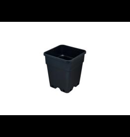 Pot Senkap PP 3,5 ltr vierkant 15x15x20 cm