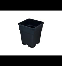 Kweekpot 11 liter vierkant 24x24x28 cm