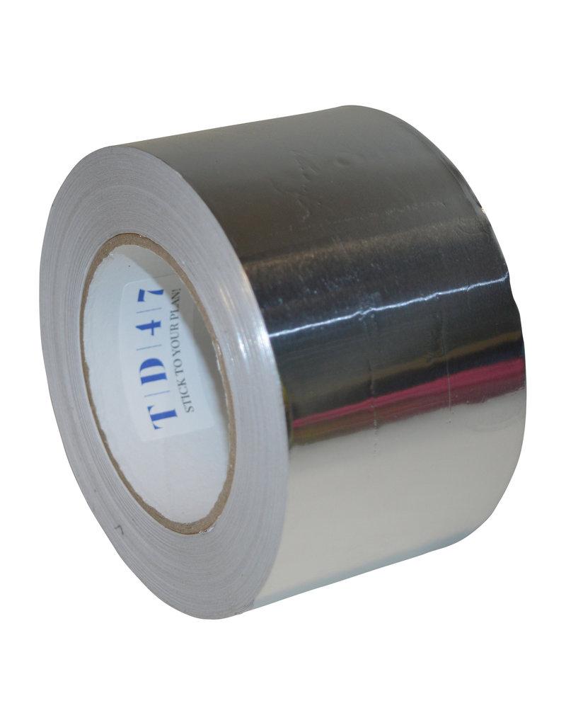 Aluminiumtape 75 mm x 45 mtr