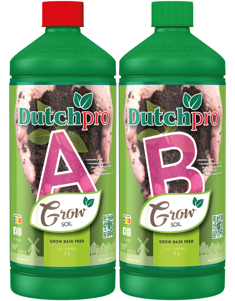 Dutchpro DutchPro Aarde/Soil Grow A+B 1 ltr