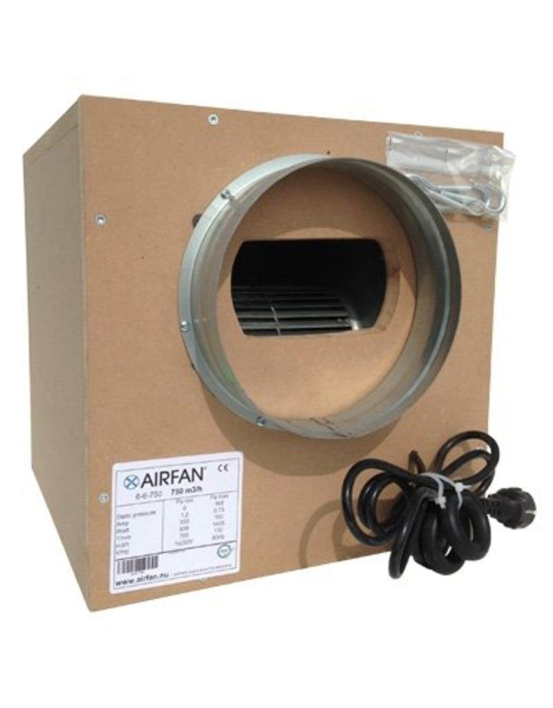 Airfan ISO-Box MDF 550m³