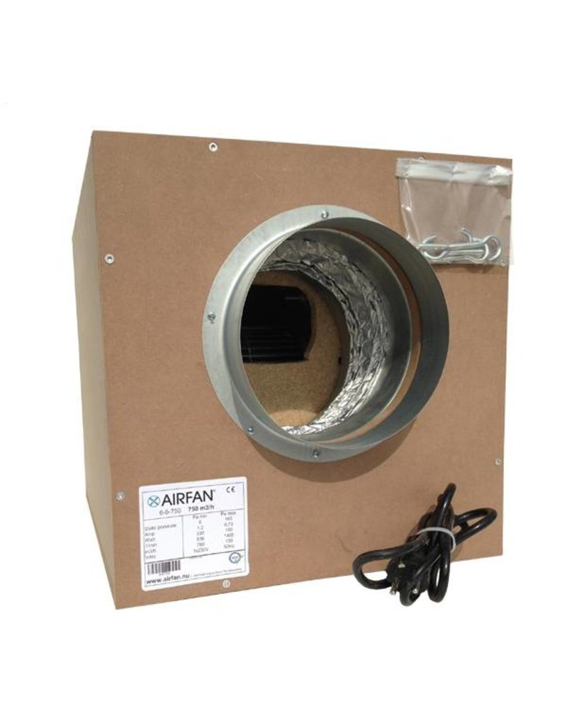 Airfan Softbox MDF 4250m³