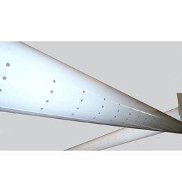 Luchtverdeelslang 200mm x 5mtr