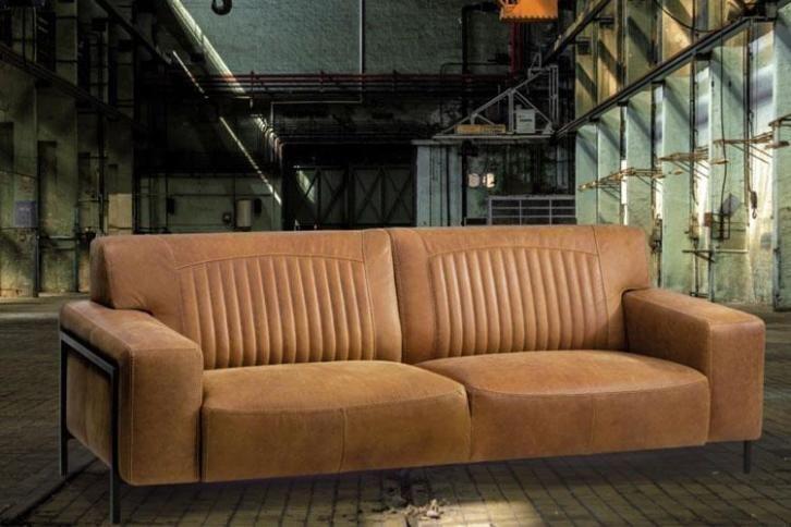 Hoekbank Design Leer.Bankstel Bonanza Design