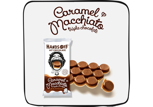Hands Off My Chocolate Caramel Macchiato per box (12 bars)