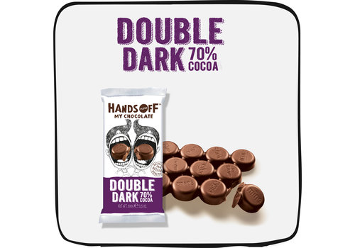 Hands Off My Chocolate Double Dark per box (12 bars)