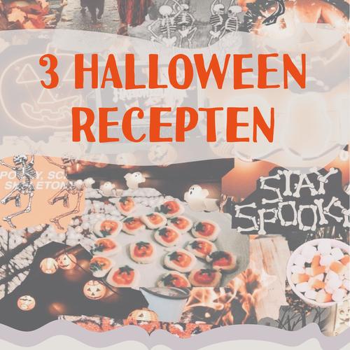 3 Halloween recepten met chocolade