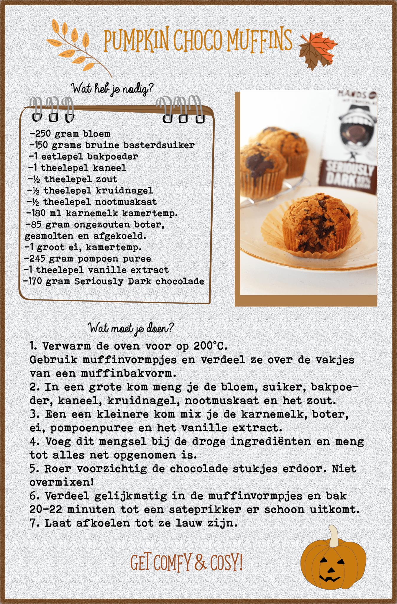 Pumpkin Choco Muffins