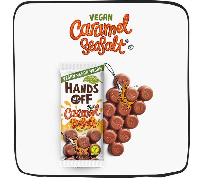Vegan Caramel Seasalt Hazelnut Praline