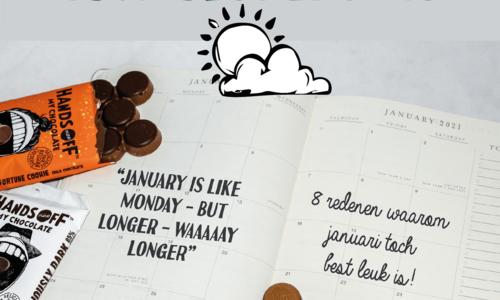 8 redenen waarom januari tóch best leuk is!
