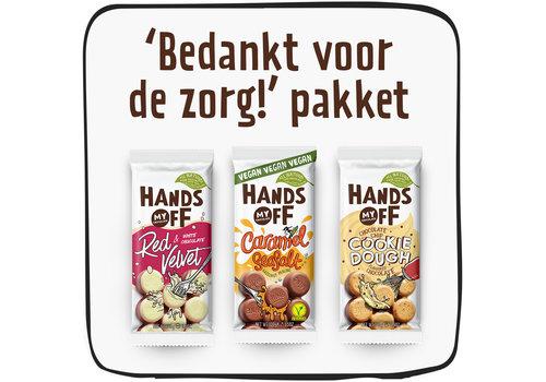 Hands Off My Chocolate Bedankt voor de Zorg pakket