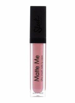 Sleek MakeUp   Matte Me Lipgloss - Petal