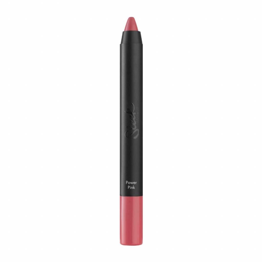 Sleek MakeUp | Power Plump Lip Crayon - Power Pink