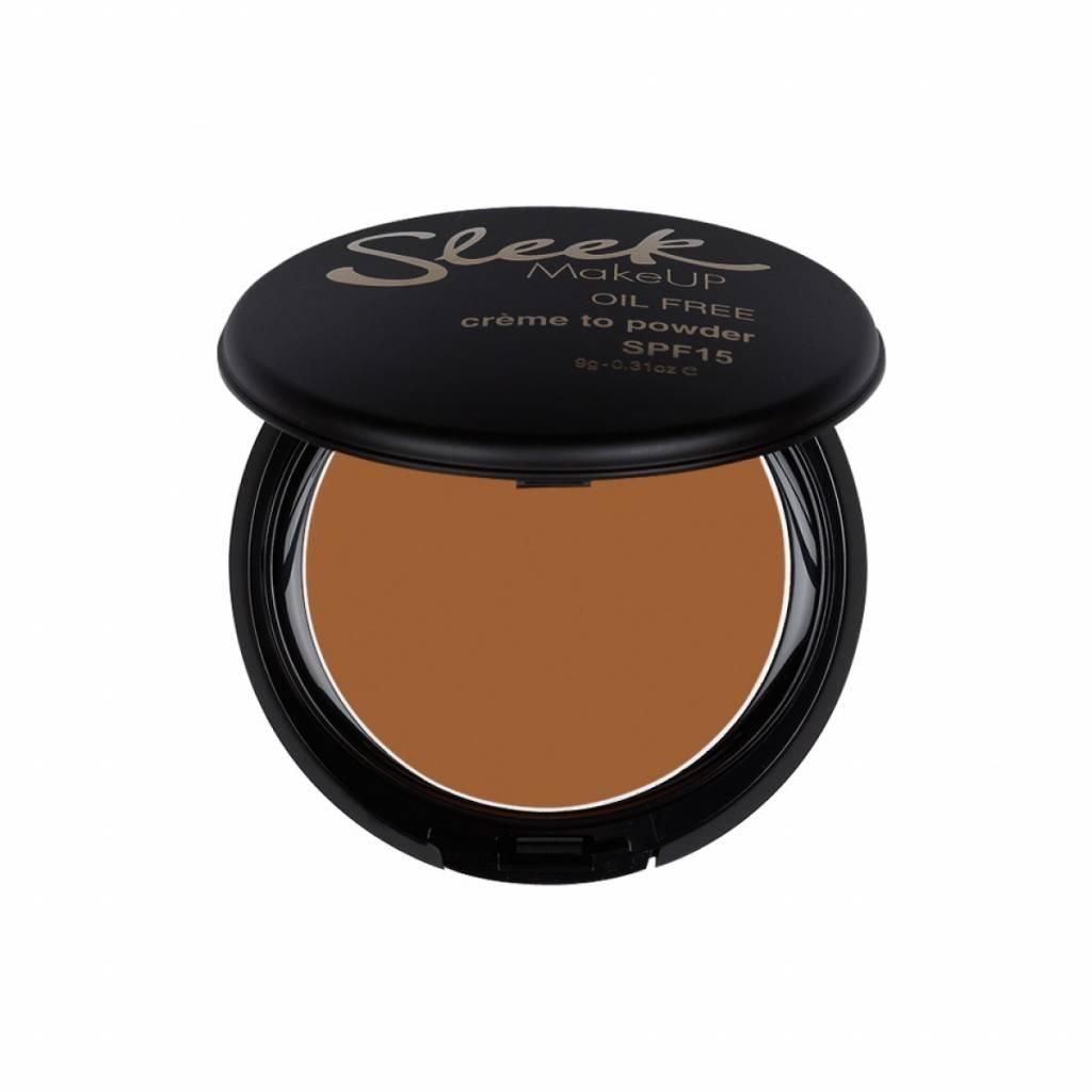 Sleek MakeUp   Creme To Powder Foundation - Toffee