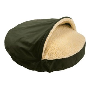 Snoozer Cozy Cave Olive