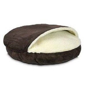 Snoozer Hondenkussen Luxury Cozy Cave Hot Fudge