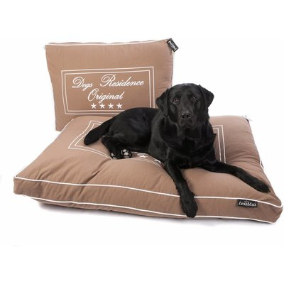 Lex & Max Hondenkussen Boxbed Dogs Residence Taupe