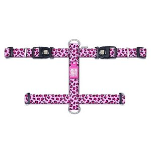 Max & Molly H-Harnas Leopard Pink