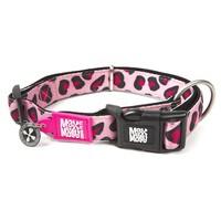 Halsband Leopard Pink