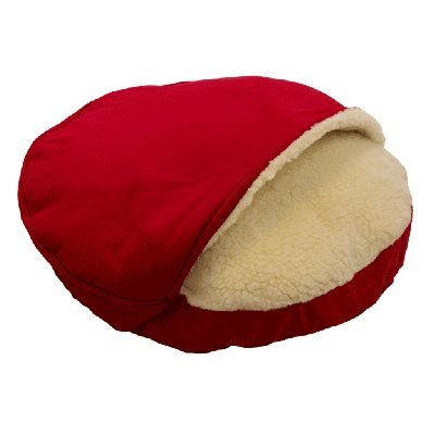 Snoozer Hondenkussen Cozy Cave Rood Poly Cotton
