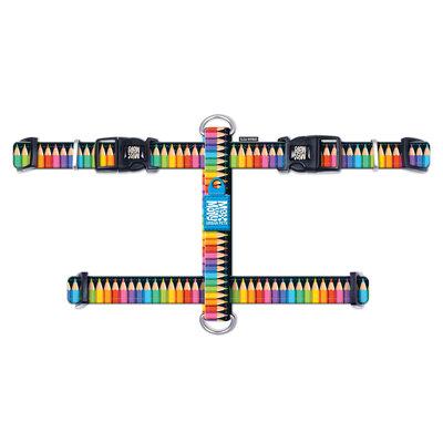 Hondentuig H-Harnas Crayons