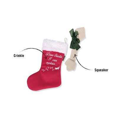 P.L.A.Y. PLAY Merry Woofmas - Good Dog Stocking