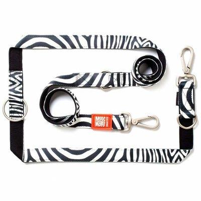 Hondenriem Multi Zebra