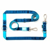 Hondenriem Multi Matrix Blue