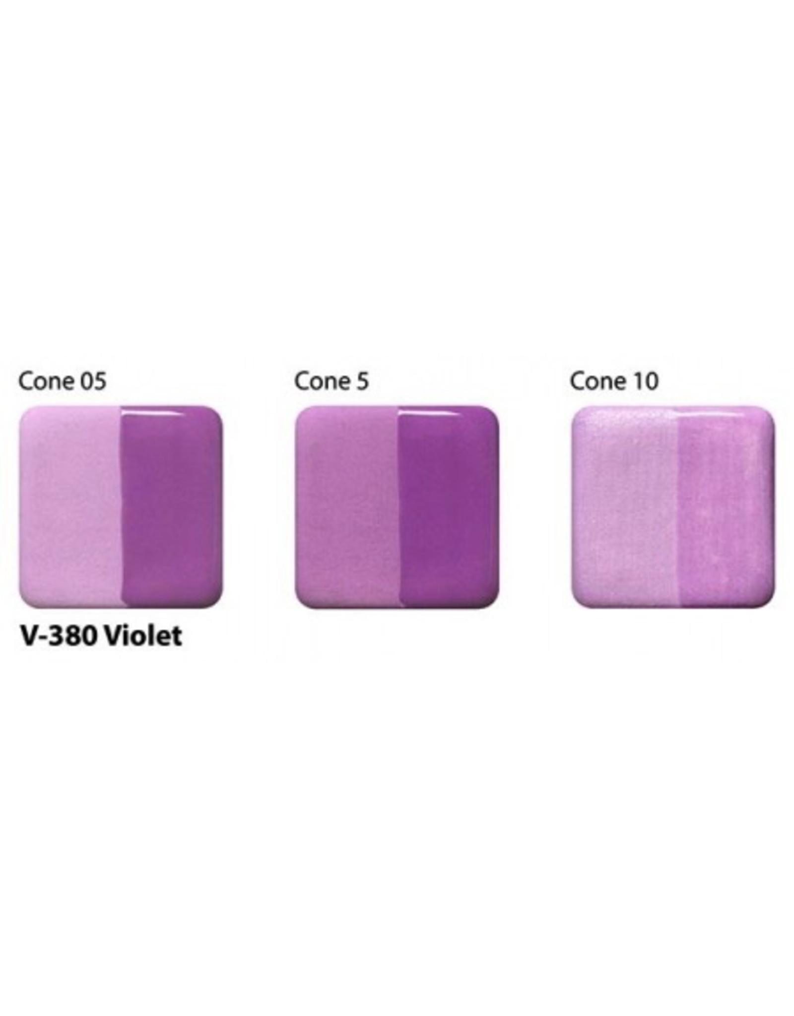 Amaco Amaco Velvet V380 Violet underglaze 59ml
