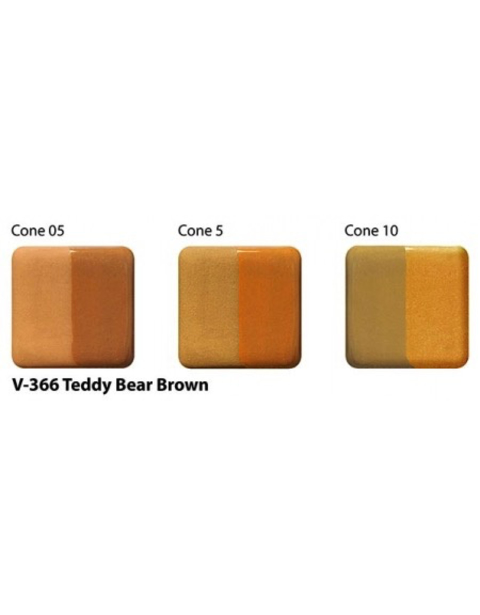 Amaco Amaco Velvet V366 Teddy Bear Brown  underglaze 59ml