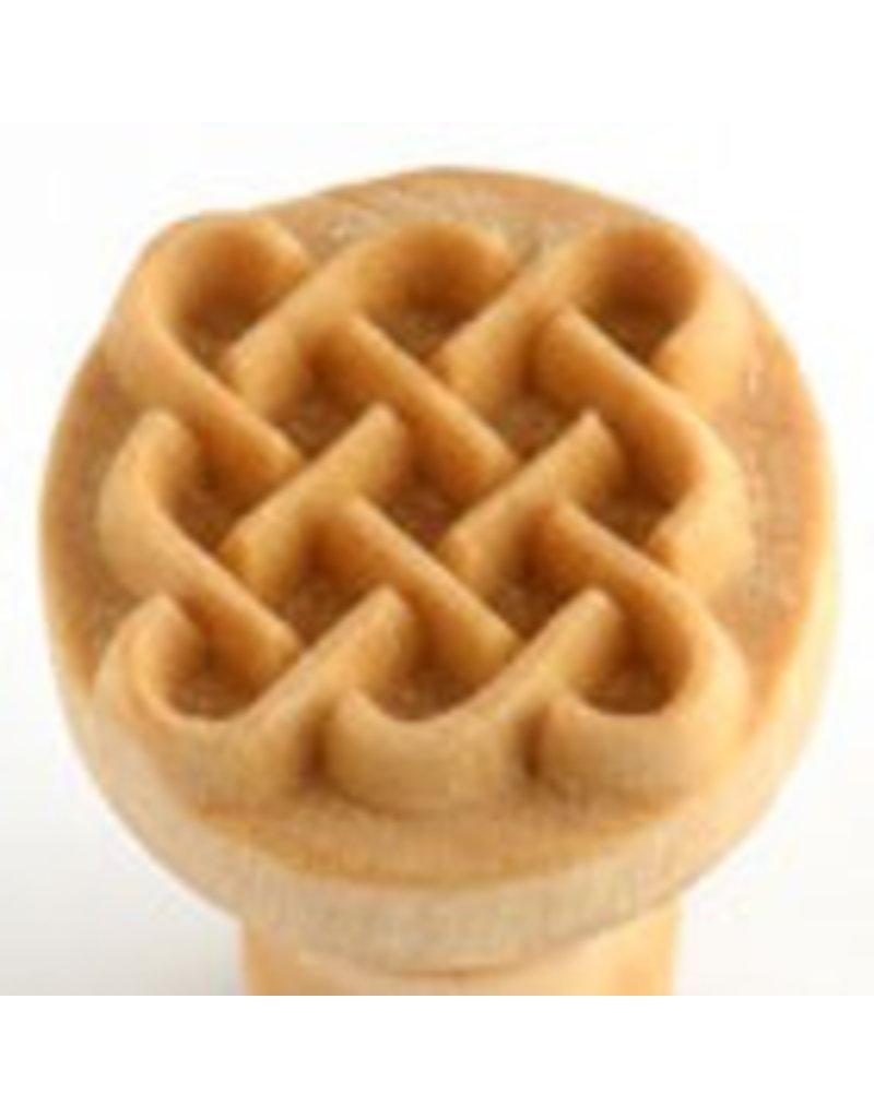 Celtic square stamp (2.5cm)