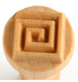 Square Coil Stamp - 2.5cm