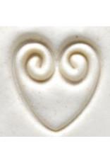 Swirled Heart stamp (2.5cm)