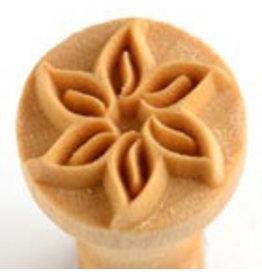 Swirling Flower stamp (2.5cm)