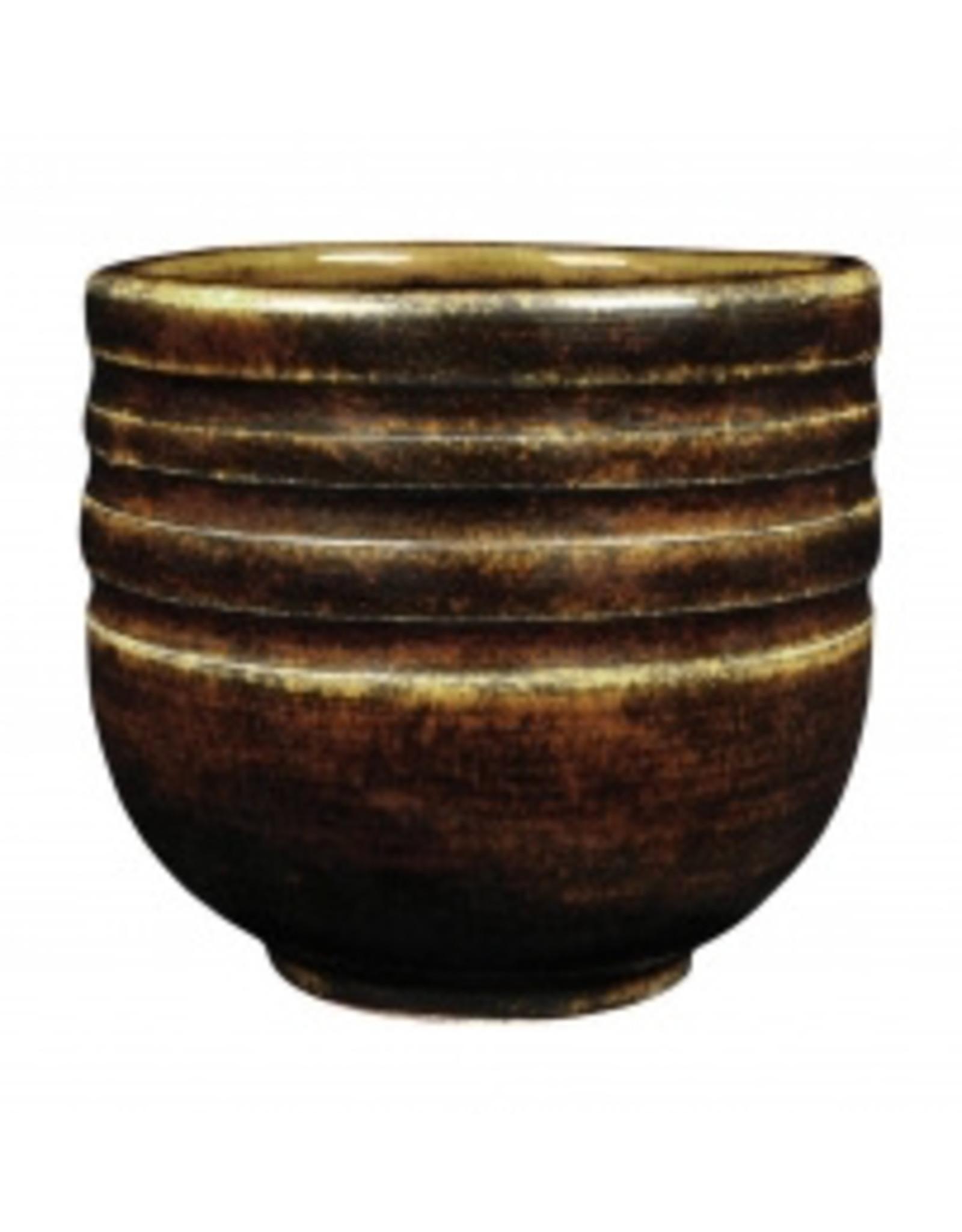 Textured Amber Brown AMACO Potters Choice Brush-on Stoneware Glaze 473ML 1180˚C - 1240˚C