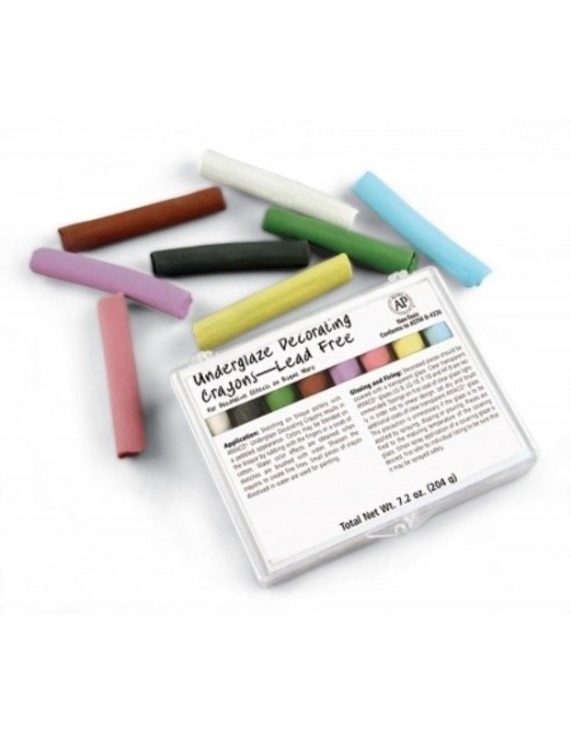 Amaco Underglaze Chalk Crayons Set 208