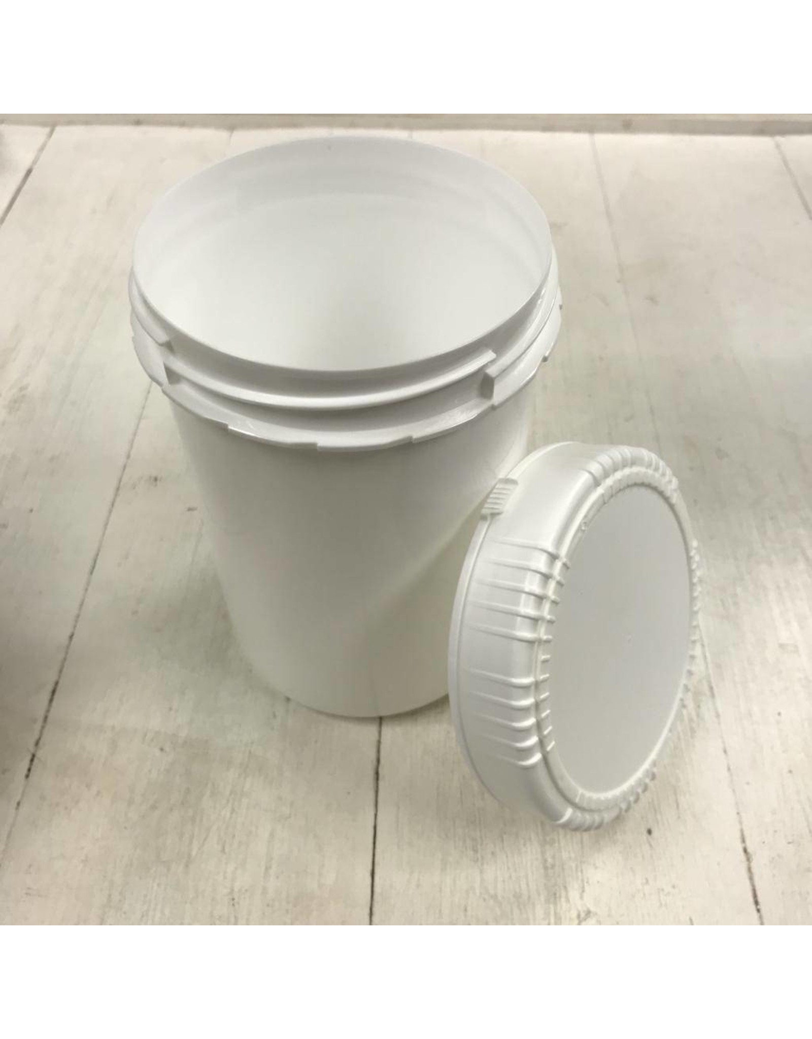 1000ml White plastic Jar