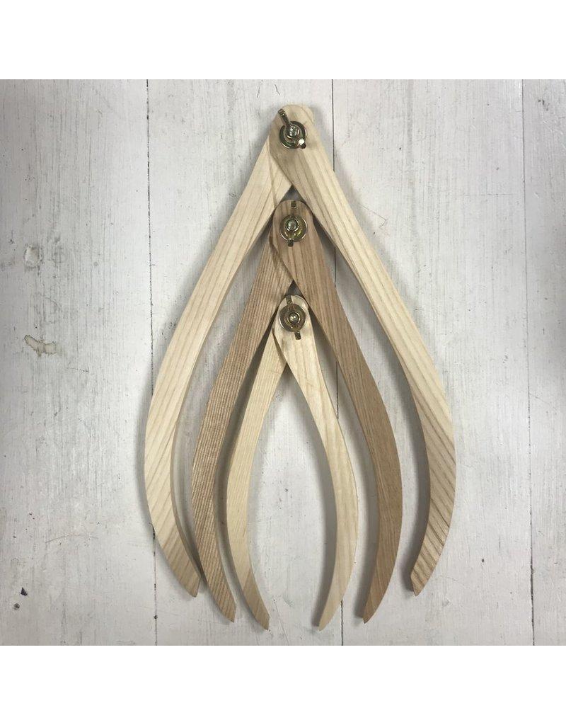 Royal & Langnickel Wooden callipers (3 pcs)