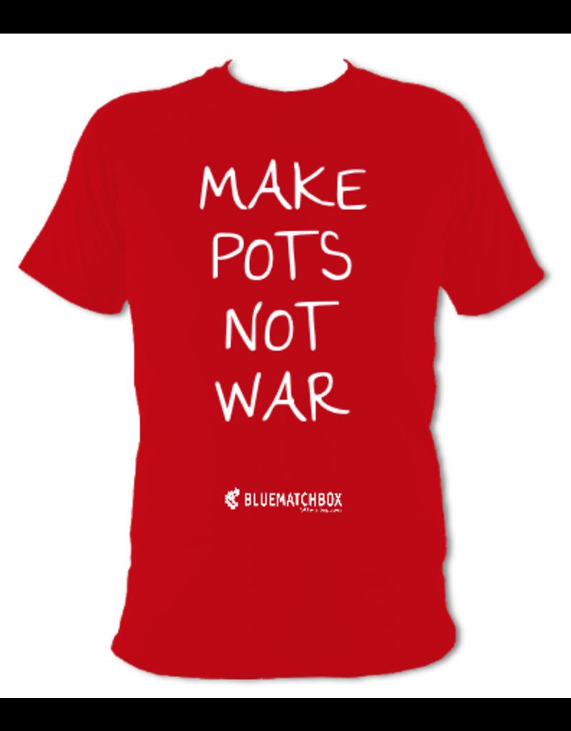 Make Pots Not War T-shirt