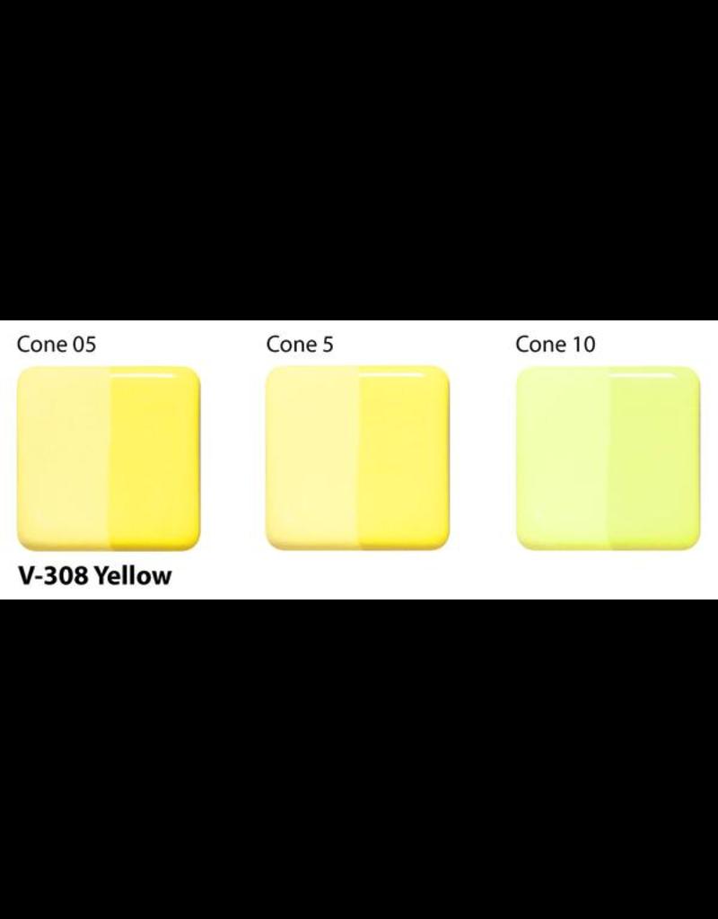 Amaco Amaco Velvet V308 Yellow underglaze 59ml