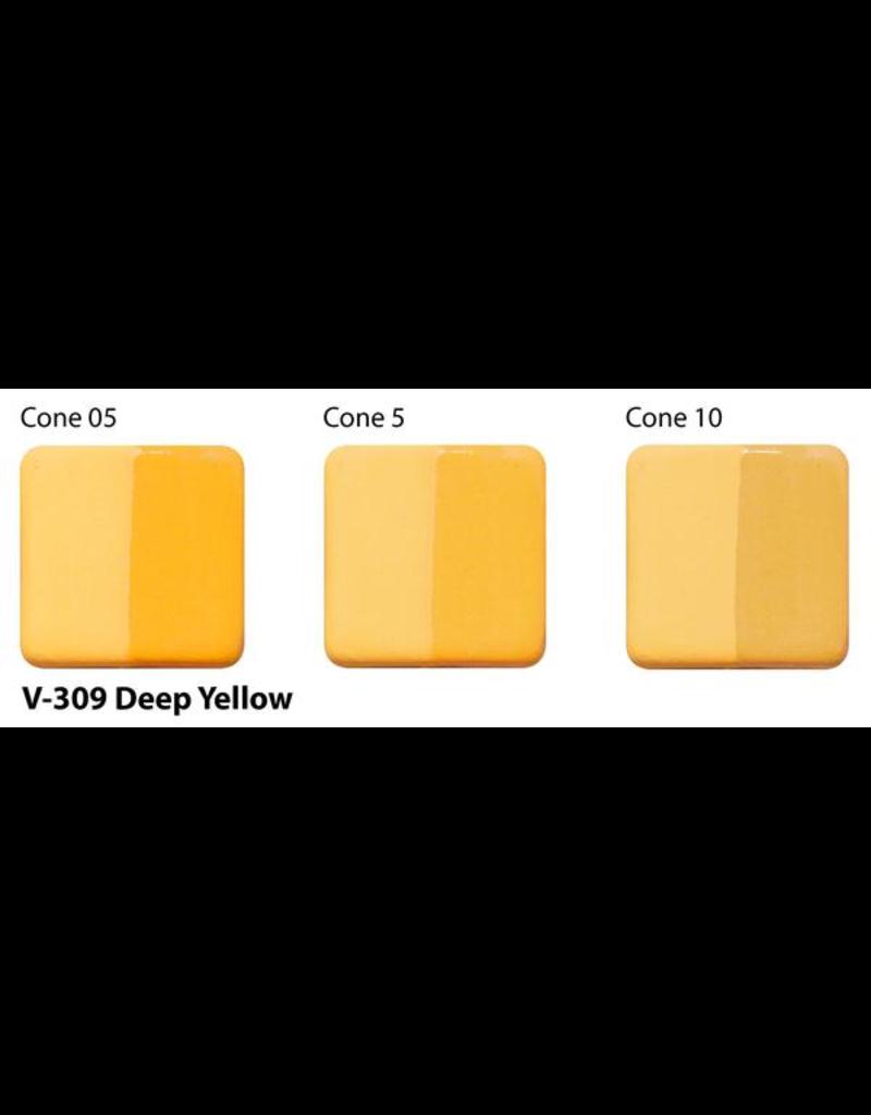 Amaco Amaco Velvet V309 Deep Yellow underglaze 59ml