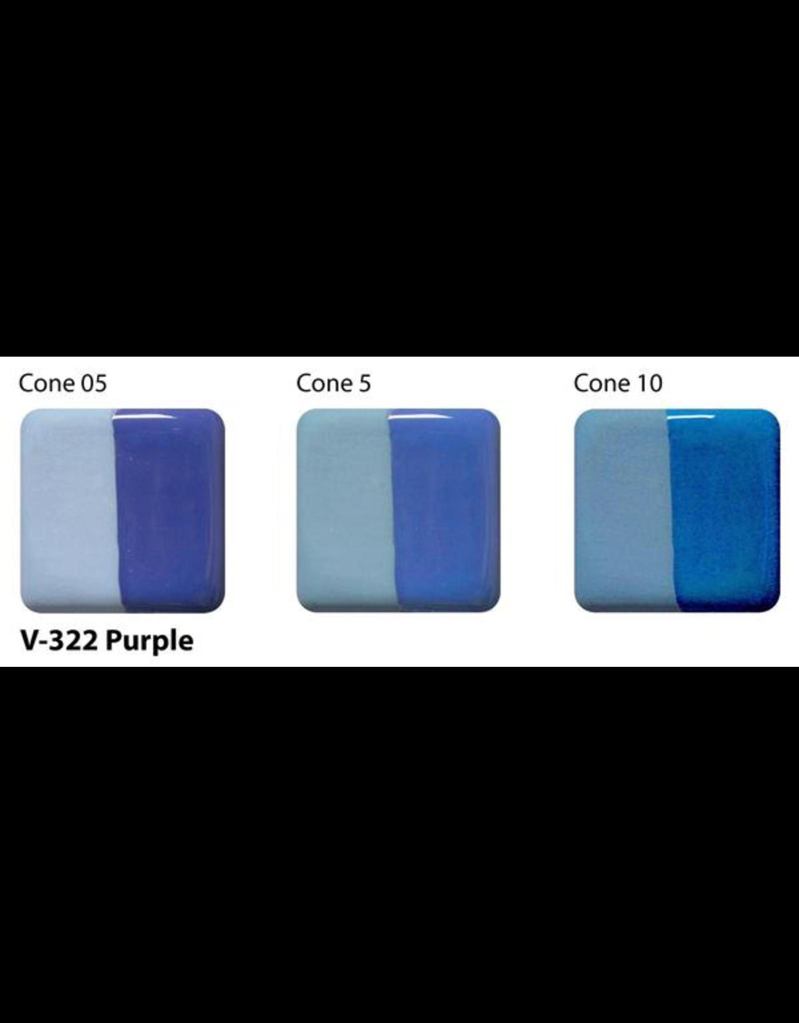 Amaco Amaco Velvet V322 Purple Underglaze - 59ml