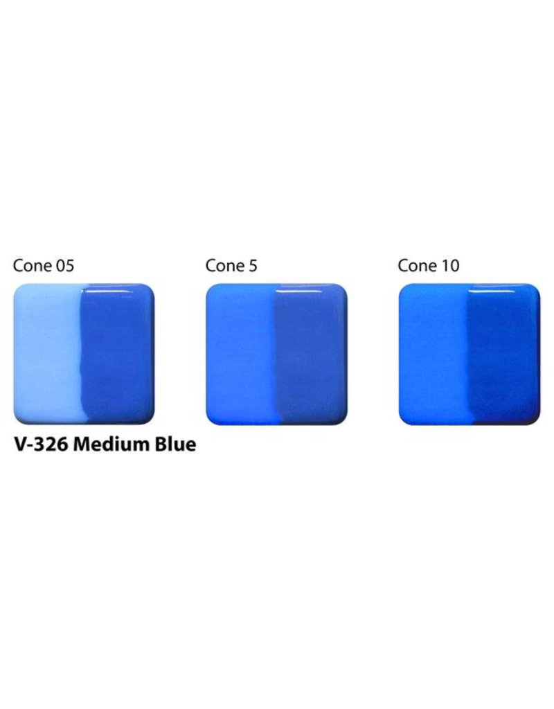 Amaco Amaco Velvet V326 Medium Blue underglaze 59ml