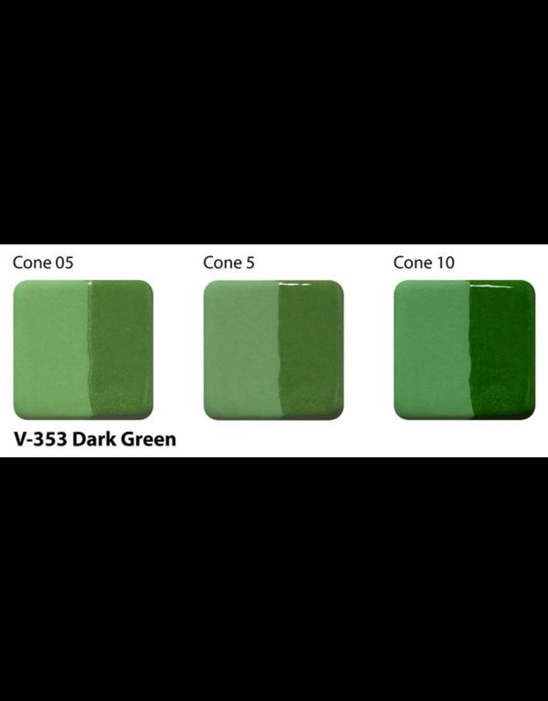 Amaco Amaco Velvet V353 Dark Green underglaze 59ml