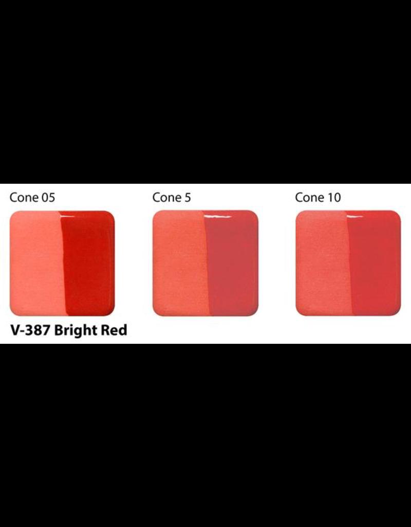 Amaco Amaco Velvet V387 Bright Red underglaze 59ml