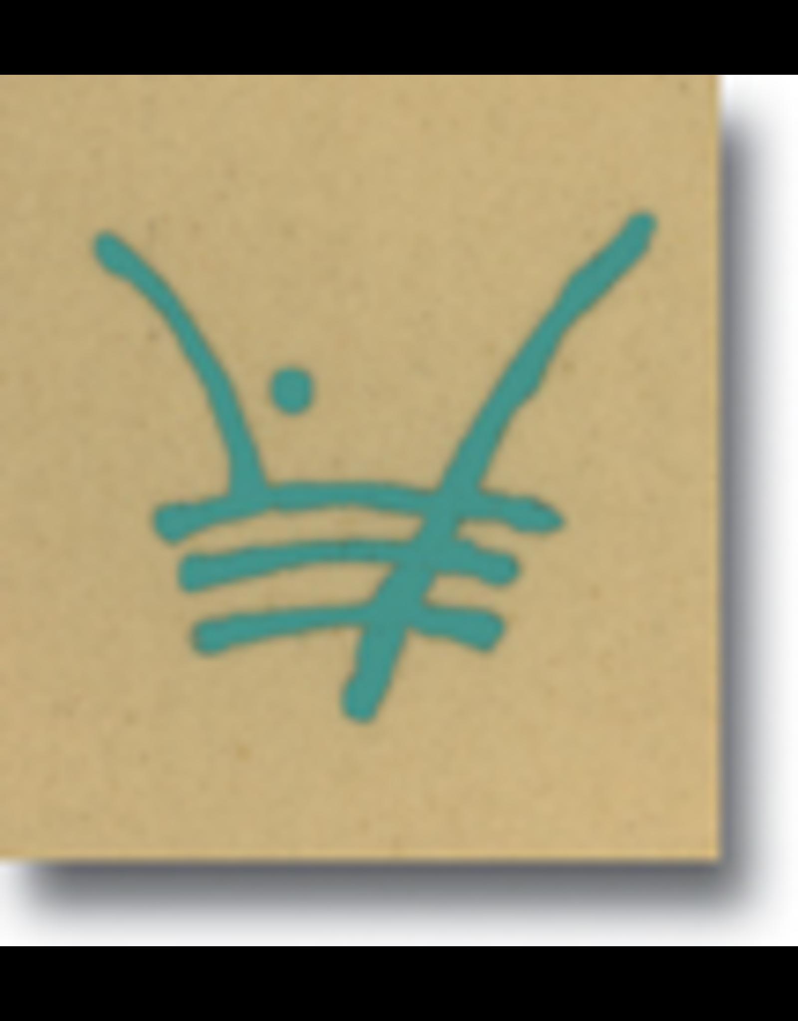 Turquoise  Underglaze pen