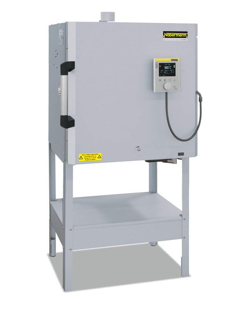 Nabertherm 70lt front loading kiln with 2 sided heating 1200˚c max