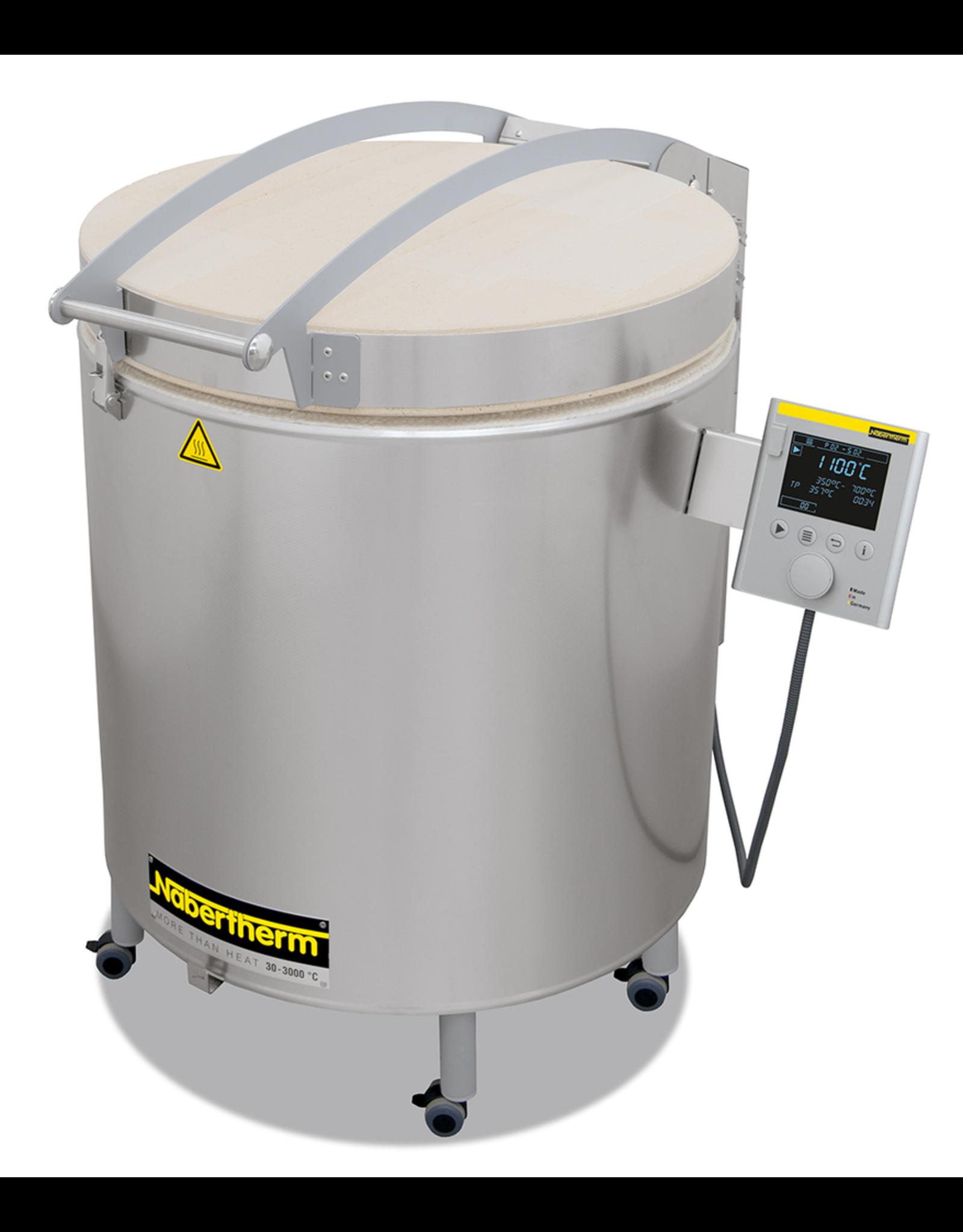 Nabertherm 160Lt top loading kiln 1320˚c max.